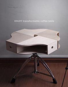 Leuk idee van IKEA Hackers! Als bijzet tafeltje of nachtkastje. Door JolienVisser