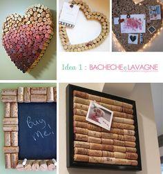 5 idee per un riciclo creativo dei Tappi in Sughero 1. Bacheche e lavagne! Beautiful