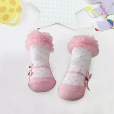 6 Pairs//Lot Lovely Princess Socks Lace Ruffle Frilly Ankle Baby Socks Mix S-M GA