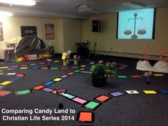 Candy Land object lesson for my 10 week series
