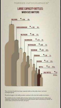 Wine bottle size