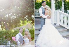 white rabbit photo boutique disneyland hotel wedding rose court garden-1-2