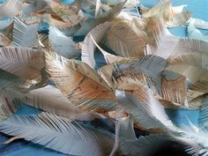 lots of cool feather projects--paper feathers and feather garland are my faves