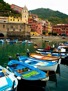 Just like my picture!! Vernazza, Italy