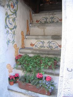 Untitled  Painted Steps in Tallinn, Estonia