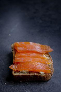Gravlax (Raw Spiced Salmon)