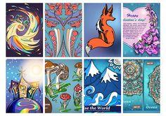 Freelance Illustration (12 pictures inside)