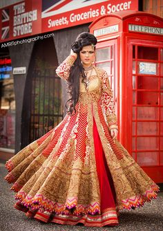Indian bridal red colour lengha | Photography by: www.AmritPhotography.com | Wardrobe by WellGroomed, Surrey, BC, Canada | TAGS: India wedding outfit dress punjabi weddings lengha lehnga bride indian wedding red