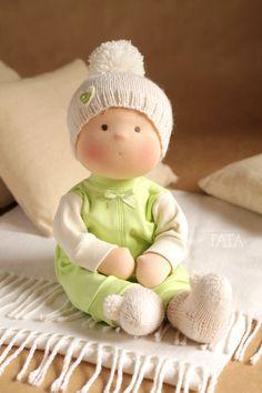 Вальдорфская игрушка ручной работы. Ярмарка Мастеров - ручная работа. Купить Кукла Непоседа. Handmade. Вальдорфская кукла, куклы