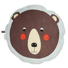Oyoy, Bear cushion organic cotton - Sunday in color