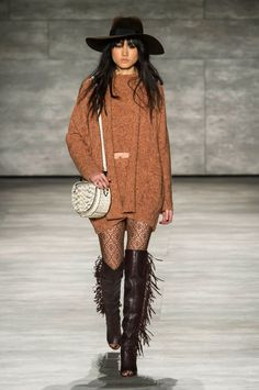 Rebecca Minkoff RTW Fall 2015-- This is so great! Love the ways she mixes textures and prints and color palettes.