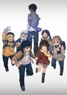 Erased: Satoru, Kenya, Kayo, Kazu, Osamu, and Hiromi