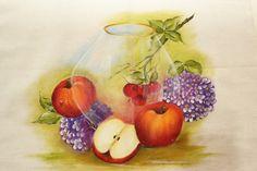 Trabalhos da professora Maria Madalena (pintura em tela) Trabalhos da professora Maria Madalena (pintura em ...