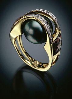 Tahitian ring #fk #fashionkiosk #jewellery