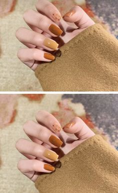 Nail Designs You Need to Copy Immediately Read fall acrylic nails coffin - Fall Nails Love Nails, Pretty Nails, My Nails, Autumn Nails, Fall Nail Art, Acrylic Nails For Fall, Fall Nail Designs, Cute Nail Designs, Minimalist Nails