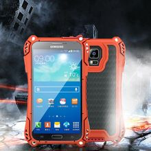 R-Just Tempered Glass Aluminum Shockproof Waterproof Armor Case Cover For Samsung Galaxy S5 AMIRA Armour Powerful Case