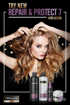 Shop TRESemmé Repair & Protect 7 with Biotin for visibly stronger, healthier, more manageable hair that's ready to style.