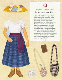 JOSEFINA * 1500 free paper dolls at Arielle Gabriel's The International Paper Doll Society for paper doll pals at Pinterest, thanks to all of you..! *