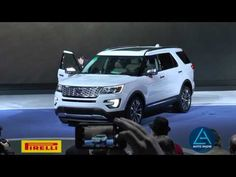 New Ford Explorer makes global debut at #LosAngelesAutoShow