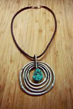 Boho Chic Necklace  We are who surrounds us by mimmaf on Etsy,