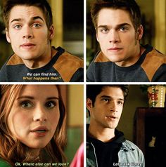 Teen Wolf #5x19 • The Beast of Beacon Hills • Liam, Lydia and Scott (1 Mar 2016)