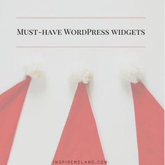 Wordpress widgets you must have on your blog.