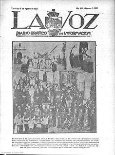 19270816 Posadas (Córdoba) Inauguración de la Nueva parroquía