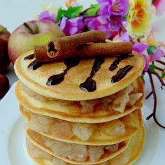 ZDROWE BATONIKI TWAROGOWE | Moje zdrowe słodkości oraz porady żywieniowe What's For Breakfast, Sugar Free, Pancakes, Cheesecake, Healthy Recipes, Baking, Ethnic Recipes, Food, Bears