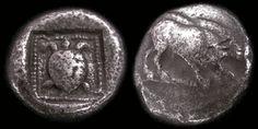 Lycia 5th Century B.C. Tortoise ca. 500-450 B.C. Silver Stater, Coins, Greek Hellenistic Macedonian, Civilization  History of Macedonia Greece   #Macedonia #Macedonian #Greece #History #coins #drachma #money #ancient #stater