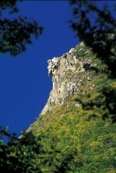 Old Man of the Mountain (RIP 2003), Franconia Notch, NH ~ Bob Grant Photography