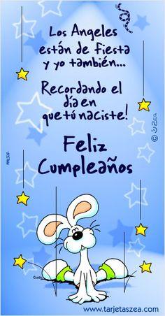 Los ángeles están de fiesta y yo también… recordando el día en que tú naciste! Feliz cumpleaños.