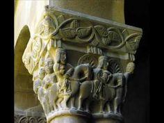 Fotos de: Huesca - Monasterio de San Pedro el Viejo - Capiteles - Románico