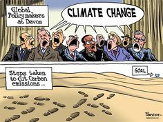 Climate change steps