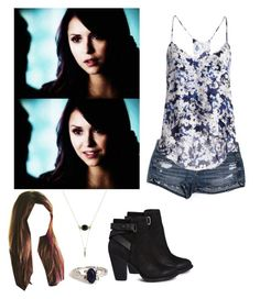 elena gilbert inspired outfit by demiwitch-of-mischief on poly Vampire Diaries Stefan, Vampire Diaries Fashion, Bonnie Bennett, Joseph Morgan, Damon Salvatore, Christian Grey, Ian Somerhalder, Nina Dobrev, Outfits For Teens