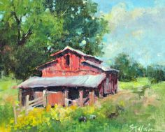 Had a great time painting in Stokes County, NC last week for their Art Shine plein air event. Here are a few of the paintings of the week…