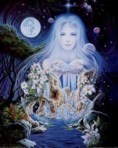 Water-Mountain Goddess.