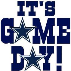 It's game day Dallas Cowboys
