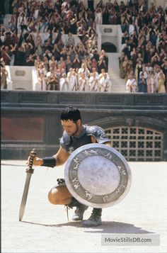 russell crowe in ridley scott's gladiator, 2000 Gladiator 2000, Gladiator Film, Gladiator Maximus, Gladiator Quotes, Epic Movie, Love Movie, Film Movie, Troy Movie, Movies And Series
