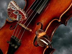 The violin has such beautiful sounds so it should have beautiful butterflies along for the song!
