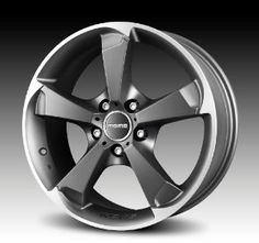 MOMO Car Wheel Rim - Drone - Anthracite - 17 x 7.5 inch - 5 on 112 mm - 45 mm offset - Part # DR75751245A  Price: $158.00