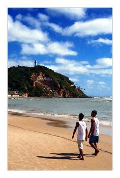 Walking To School by ViktorVaughn, Morro de São Paulo, Bahia, Brazil, via TrekEarth
