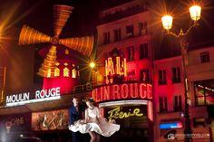 Moulin Rouge - Paryż - Francja plenerowa sesja ślubna www.grzegorzpytel.com