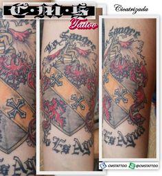 A primeira tatuagem do @thalesalmada0 que deu início a alguns projetos originais assim com este que trabalhei em vários rascunhos sempre conectando as ideias para criar um exemplar único. ♻ regram @cmstattoo Tattoo do meu brother Thales cicatrizando 🙏 Gostou? Curte aê! Afim de tatuar? Chama no WhatsApp (11) 95798-4377 📱 Scarred tattoo 👍👊💉💉💉 by Cícero Martins @cmstattoo #inksanus #inksanustattoo #tattoonobraço #tatuagemnobraço #tattoomasculina #tatuagemmasculina #blackworktattoo…