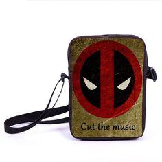 Comics Spiderman Messenger Bag Spider Man Boys Girls Shoulder Bag Children School bags Women Handbags Deadpool Mini Cross Bags