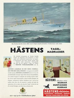 Part of Hästens 160 year history