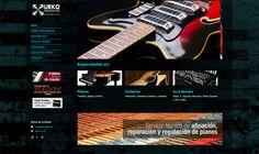 Proyecto web para Urko Musical - Calle Mayor Comunicación y Publicidad