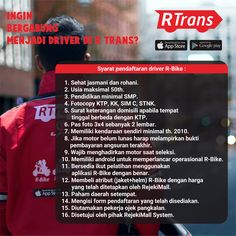 Lowongan Driver RTrans di buka seluruh Indonesia