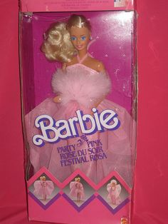 #pink #barbie #toy #play #blonde