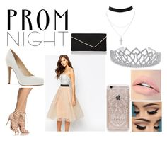 """Prom-Contest-Pastel-Pink-Fun"" by pastel-punk-teen ❤ liked on Polyvore featuring Rare London, Jessica Simpson, L.K.Bennett, Charlotte Russe, Rifle Paper Co, Jouer and Bling Jewelry"
