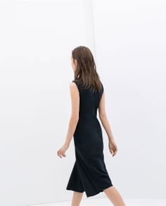 ZARA - SALE - MIDI SHIFT DRESS
